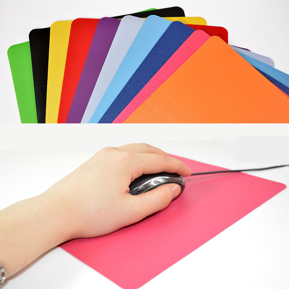 Ultra-thin Optical Mousepad Anti-Slip Wrist Rests Mice Mouse Pad Mats For Gaming Laptop Mousepad Washable Never Fade Static-free