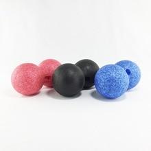 EPP Массажный мяч арахисовый двойной мяч для Лакросса для точечной терапии узлы Йога самомассаж обучение и подвижность