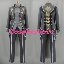 New Custom Made Japanese Anime God Eater 2 Protagonist Cosplay Costume With Hat Halloween High Quality