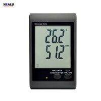 Temperature and humidity recorder GSM 21 over temperature SMS alarm Monitoring plant warehouse temperature record