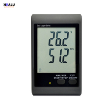 Temperature and humidity recorder GSM-21 over temperature SMS alarm Monitoring plant warehouse temperature record