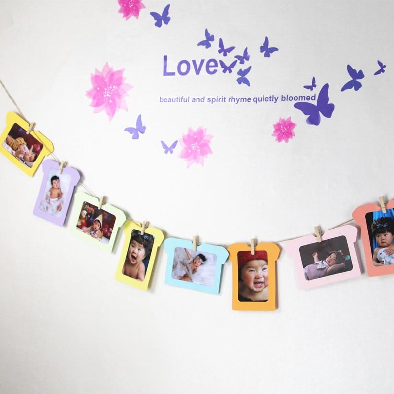 Baby Souvenirs Photo Frame Handprint Baby Photo (6)
