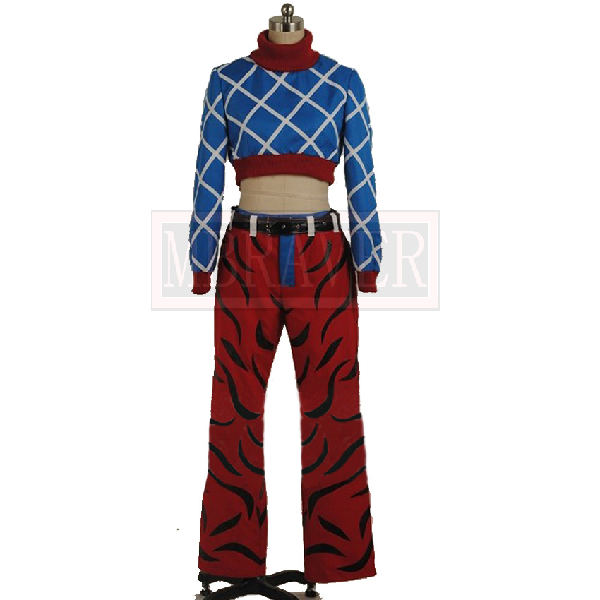 JoJos Bizarre Adventure GUIDO MISTA Cosplay Costume Custom Made In Anime Costumes From Novelty Special Use On Aliexpress