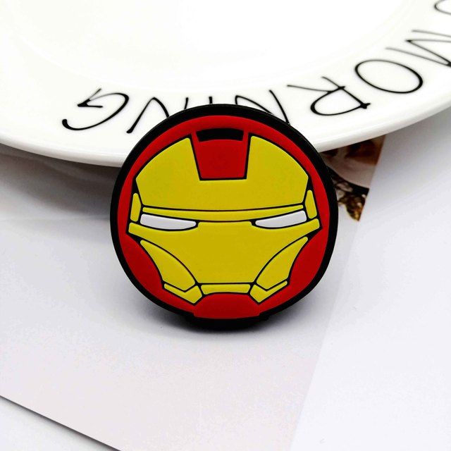 Iron Man Head Pop Grip Socket