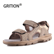 GRITION Women Sandals Flat Casual Summer Ladies Open Toe Beach Walking Shoes Outdoor Sport Comfort Female Fashion Sneakers 2019 crocodile summer women height beach sneakers outdoor soft walking shoes women leisure sandals femme light cushion sport shoes