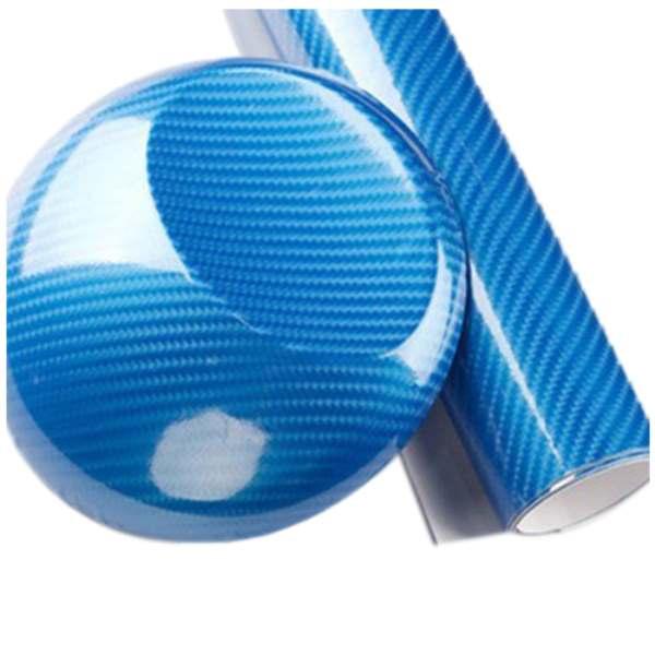 Пленка карбон 5Д 152x20 см лист клей стикер Оклеивание Авто Мото черный/красный/серебро/синий