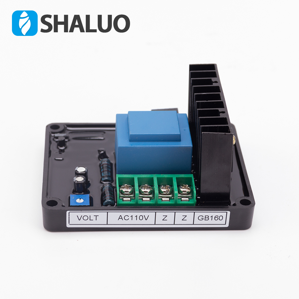 ST 220v Single Phase AVR Generator Automatic voltage regulator AVR Diesel brush alternator ac Power stable system GB160