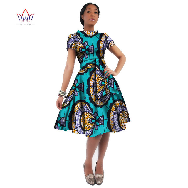 WholeSale Africa Dress For Women African Wax Print Dresses Dashiki ...