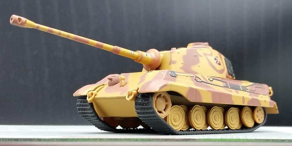 AM 1:72 Scale Model German King Tiger heavy tank model Alloy tank model