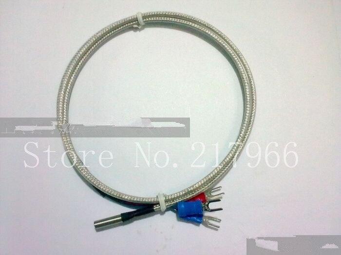 20℃ ~ 450℃ 10PCS PT100 Platinum Resister Temperature Sensor Waterproof Probe