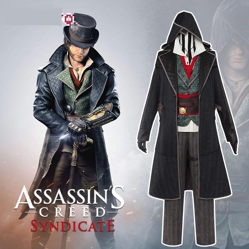 Assassin's Creed Jacob Frye Cosplay Syndicate Assassin ...