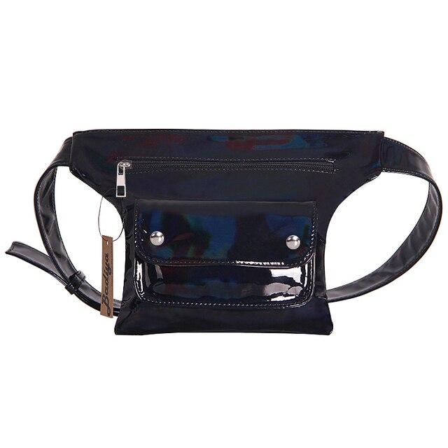 695276d64a Latest Fashion Men Women Waist Pack Fanny Packs PU Leather Belt Phone Bag  Travel Waist Bags Anti-theft Male Waist Pouch