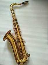 НОВЫЙ Саксофон тенор Bb STS-802 Модель Sax gold tenor Saxopfone Музыкальные инструменты Идеальная упаковка Подарочная отправка