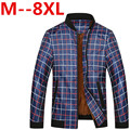 9xl 8XL 7XL 6XL 5XL New 2016 Jacket Men Fashion Casual Loose Mens Jacket Sportswear Bomber Jacket Mens jackets and Coats