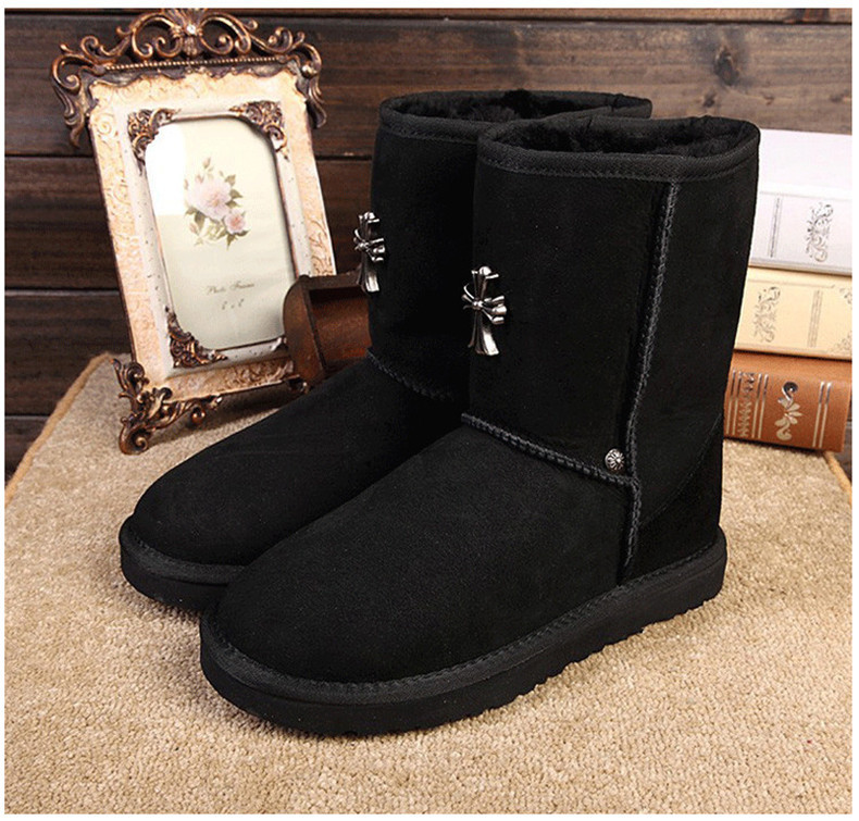 2018 brand Real Sheep Fur Natural Wool Sheepskin Leather Suede Winter Snow Boots For Women Boots Winter Shoes High Quality цены