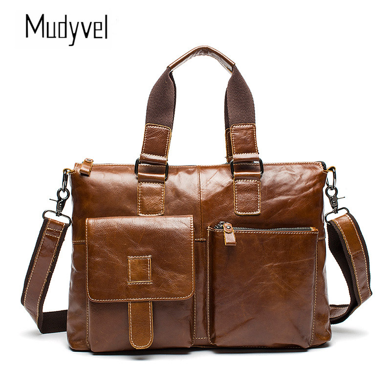 Handbag Cow Leather Business casual European style Crossbody bags Casual Tote Men leather груша скоростная cow leather everlast 4241u