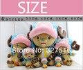 Продает Аниме One Piece Плюшевые Игрушки 2 Лет После Чоппер Плюшевые мягкие Игрушки Куклы 40 СМ детские Подарки Классические Игрушки Бесплатная Доставка
