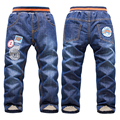 Boys Girls Clothes 3-7Yrs Kids Thicken Trousers 2016 Winter Add Wool Jeans Baby Boys Girls Pants Children Clothing Winter Warm