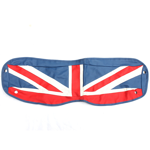 Brand New Trunk Cargo Cover High Quality Leather Union Jack UV Protected  Mini Cooper Car Accessories