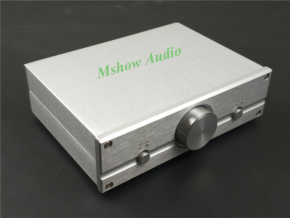 все цены на Mshow Mini Fully Balanced Passive Preamp Volume Controller XLR/ RCA HIFI Audio free shipping
