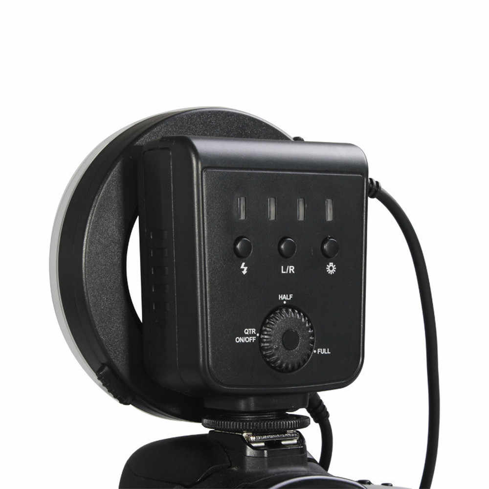 Aputure HC100 HN100 CRI 95 + Amaran Halo светодиодный макро кольцо вспышка света для Canon EOS 7D 6D 50D 5D Mark III 5D Mark II 700D D7200D800