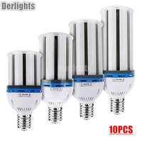 10pcs Lot LED Corn Light 30W 40W 50W 60W E27 E40 LED Bulb Warm Cold White