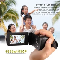 Digital Video Camera Full HD 1920x1080P 24MP WiFi 2.7 Touch Screen 16x Zoom Mini Camcorder DV Camera Digital Video with LCD