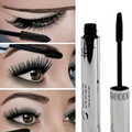 Brand New Black Eye Mascara 3D Long Eyelash Silicone Brush Curving Lengthening Mascara Waterproof Makeup A2