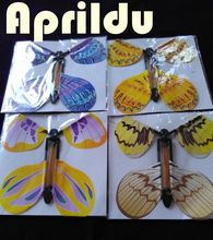 Free shipping 30pcs magic butterfly flying butterfly change with empty hands freedom butterfly magic props magic