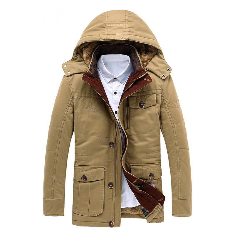 Hot Sale 2015 New Men Winter Jacket Brand Casual Hoodies Parka Men Warm Coat