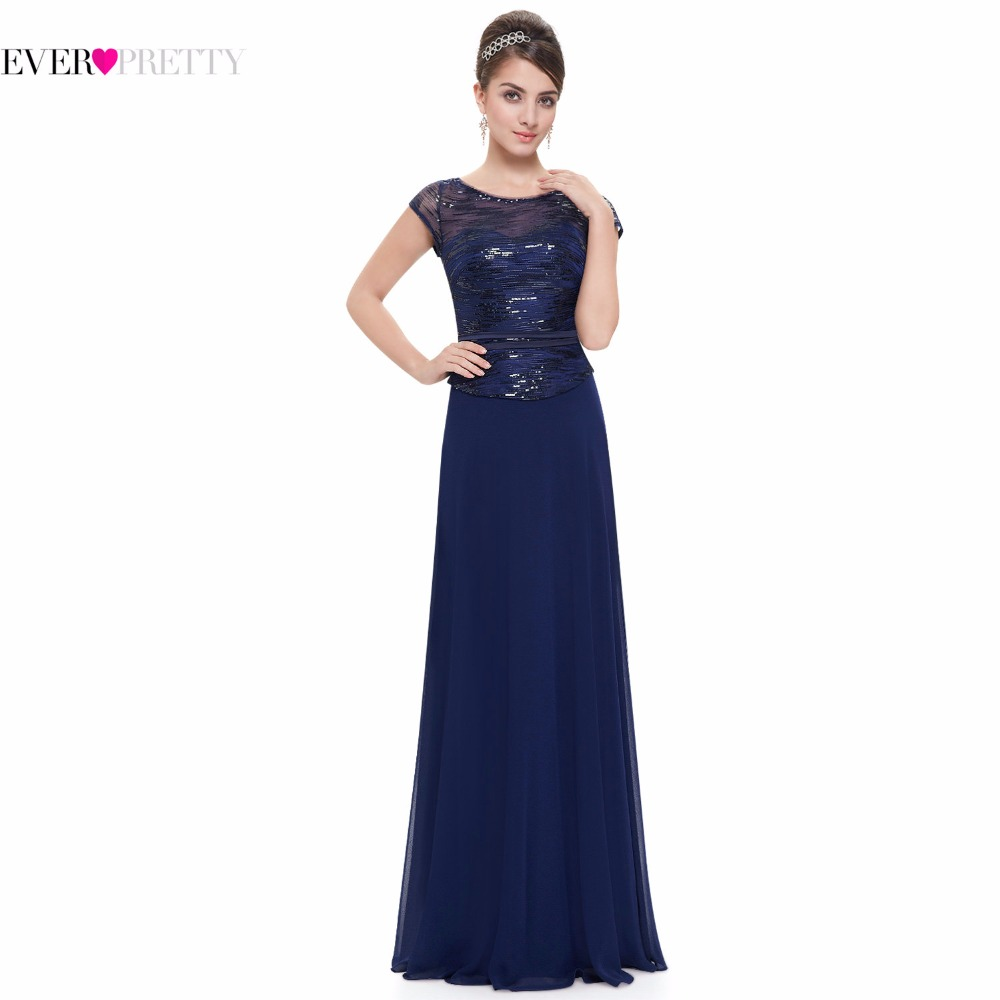 Short Sleeve Navy Blue Mother Of The Bride Dresses Ever