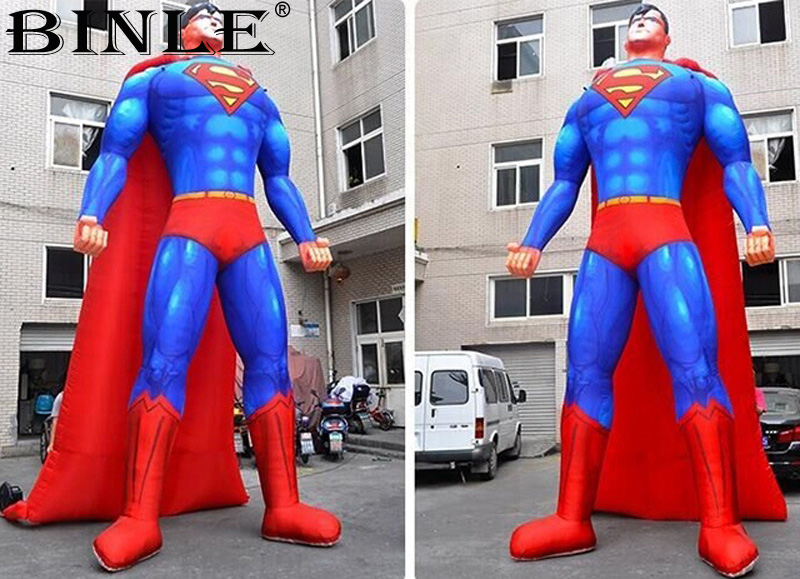 2018 new arrival the Avengers large inflatable superman balloon superhero cartoon character for party event decoration event decoration inflatable stand flower