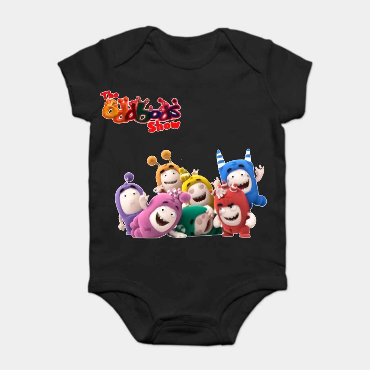 b78a1a61522e Baby Onesie Baby Bodysuits kid t shirt Oddbods Show Time Cartoon