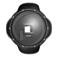 SHOOT 2 5 Version 6 Inch Lens Hood Dome Port Lens Cover For Gopro Hero 4