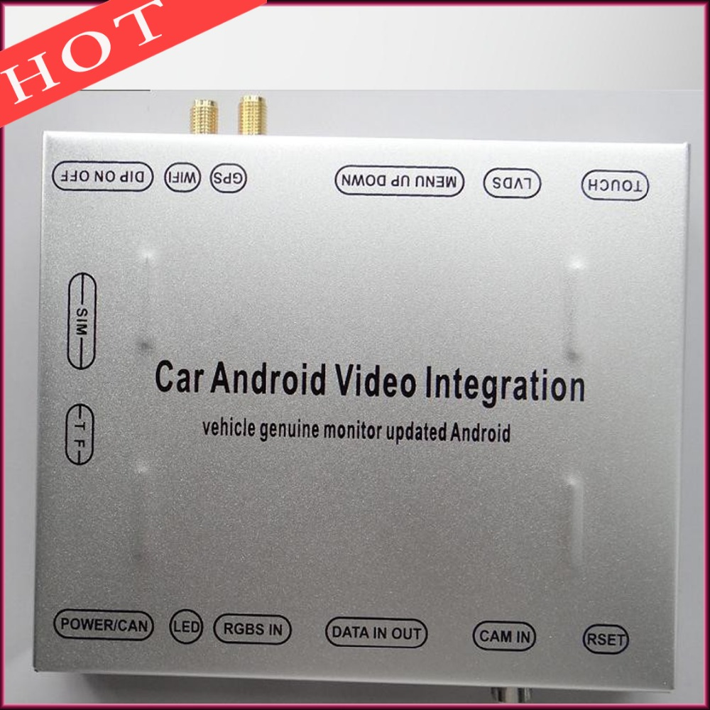 Car font b Android b font Video Interface For After 2015 Land Rover Discovery Evoque XF
