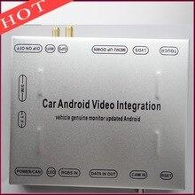 Android Interfaz De Vídeo del coche Para Después de 2015 Land Rover Evoque Descubrimiento XF XJ XE Android 4.4.4 sistema de Navegación GPS