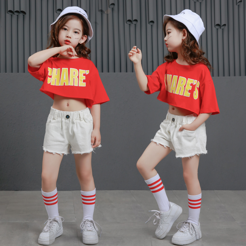 69ddaa33004747 Teens Girls Two Piece Set Long Sleeve Children Crop Tops And Plaid Skirt  Pant Kids Hip Hop Dance Clothes Girls Children Spring - aliexpress.com -  imall.com