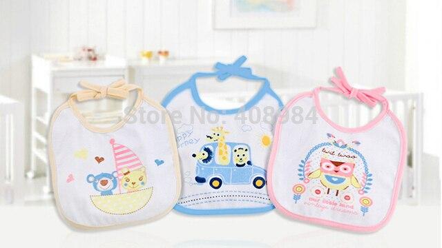 New cute cotton Baby bibs Infant saliva towels Burp Cloths funny Baby Infants Waterproof bib 20% off
