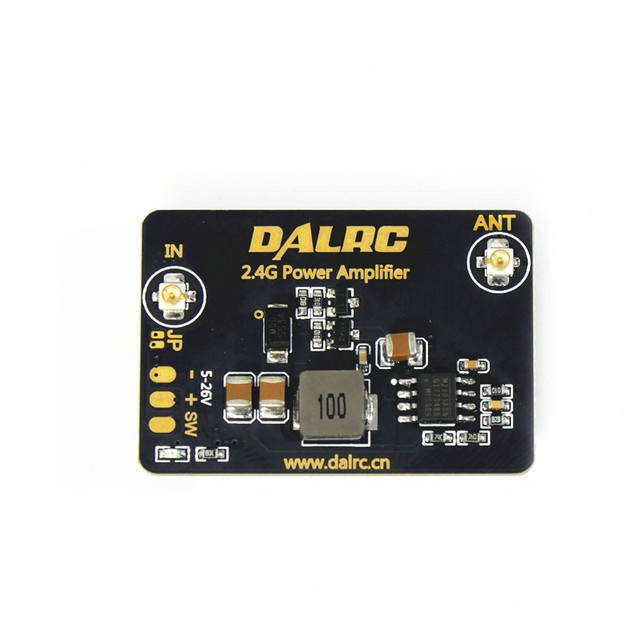 2016 New Arrival DALRC 2.4GHz 8dBm Remote Control Power Amplifier For DIY Multirotor Racer