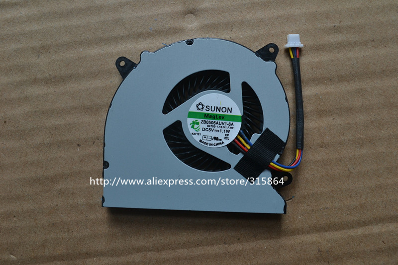 New laptop cpu cooling fan for ASUS N550J N750J N550JK N550X47JV N550X42JV