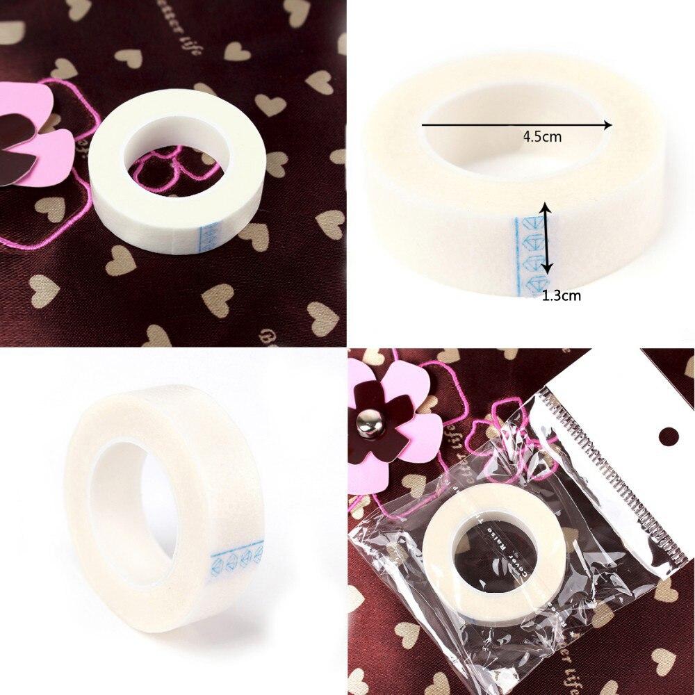 3PCS/SET Silk Eyelash Pad Eyelash Extension under Patch Makeup Tool Individual False Eyelash Tool Non-woven Lsolated wrap tape