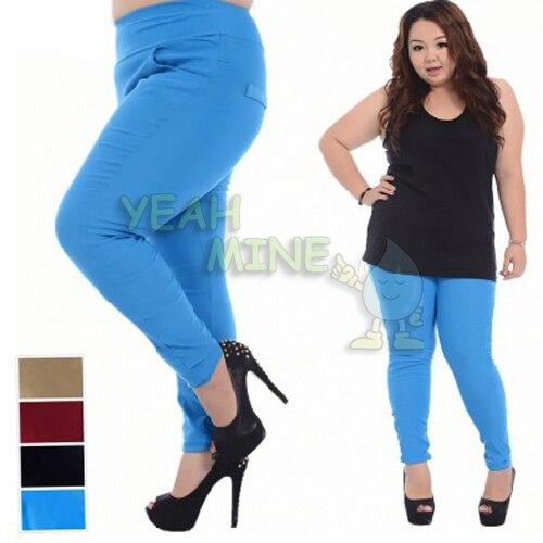 Aliexpress.com : Buy Women's Plus Size Multi color Leggings Pencil ...