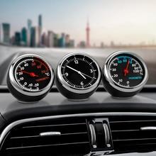 Mini Car Automobile Digital Clock Auto Watch Automotive Thermometer Hy
