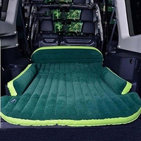 Dropshipping SUV Inflatable Mattress With Air Pump Travel Camping pad Car Back Seat Sleeping Rest Bed Mattresses DHL Free