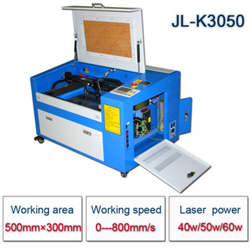 Free shipping factory Direct 3050 laser engraving machine 40w laser cutting machine CNC cutting machine Engraving area 30 * 50cm