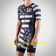 triathlon bicycles Women wattieink custom clothing wear bike Quick Dry cycling skinsuit ropa ciclismo speedsuit jumpsuit usa