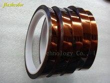 Flashcolor 5rolls оптовая продажа 10 мм * 33 м термостойкие kapton ленты для сублимации Термальность polyimid ленты
