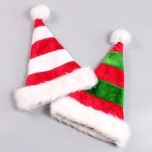 Decoración de Navidad rojo Santa Claus algodón sombreros regalos del  partido del año nuevo estilo divertido 65305d89f8a