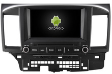 Quad Core Android 5 1 1 CAR DVD player navigation FOR MITSUBISHI LANCER 2006 2013 car