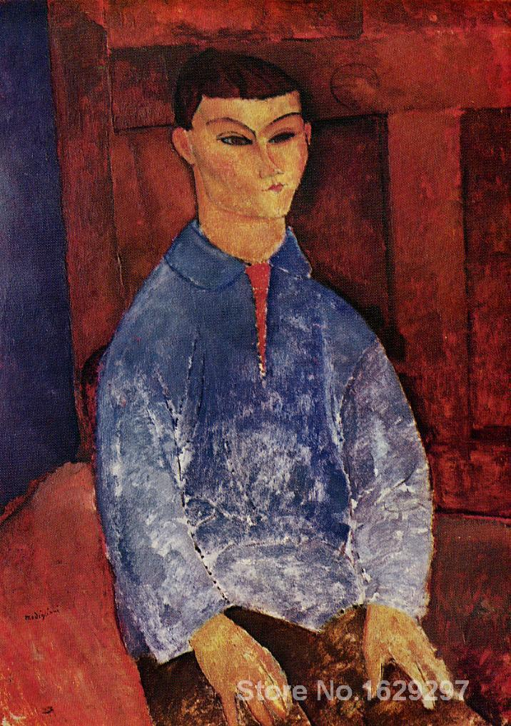 Célèbre Amedeo Modigliani peinture Portrait de la peintre Moise Kisling peint à la main de haute qualité